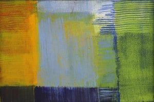 Moderne Kunst, Abstrakte Malerei: Frühling
