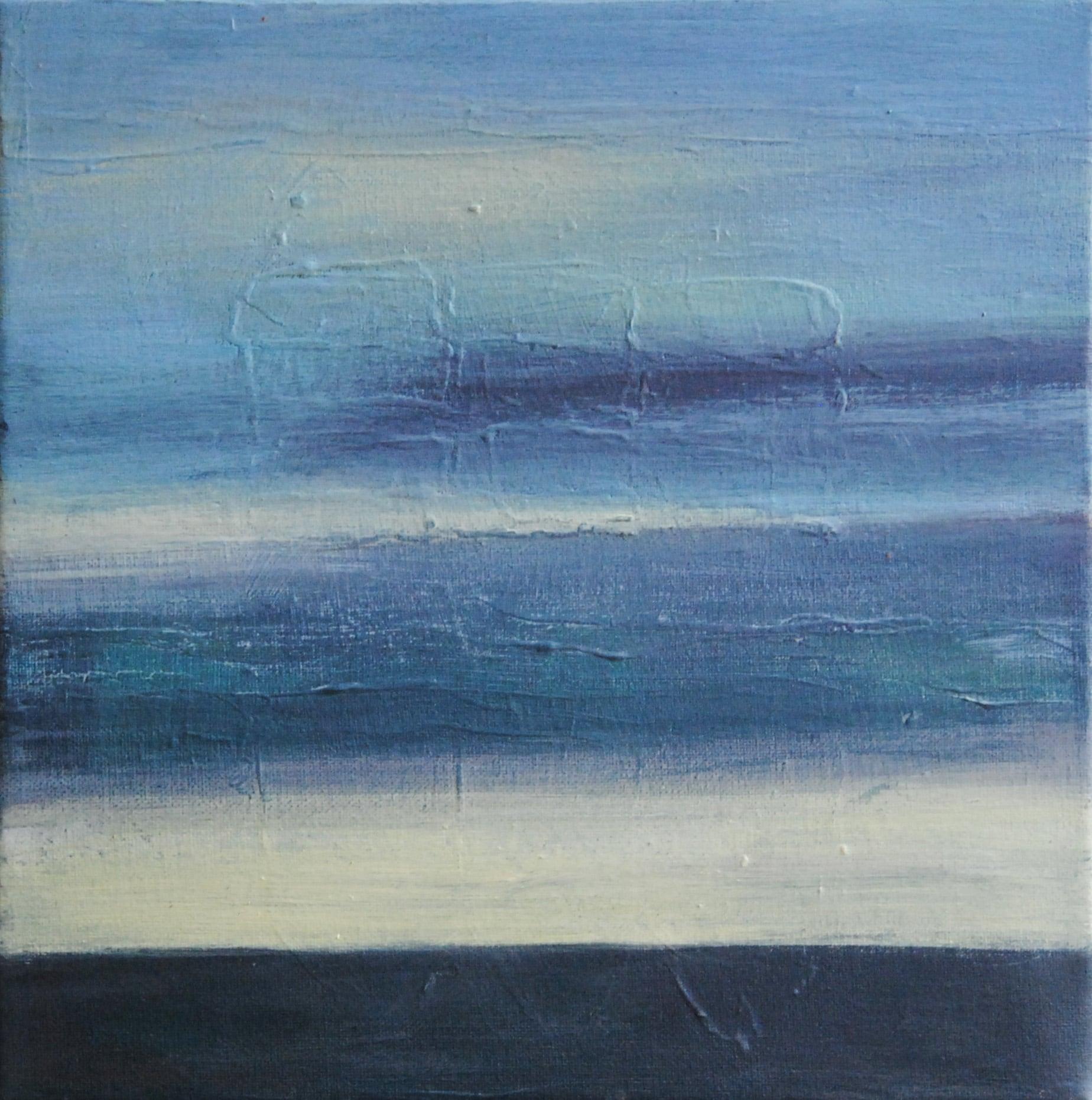 abstrakte Malerei kaufen: Landschaft, Nordsee, Meer, Himmel