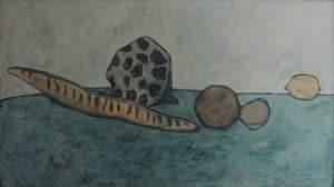 Kunst, hochwertige Originale in Eitempera, Stillleben