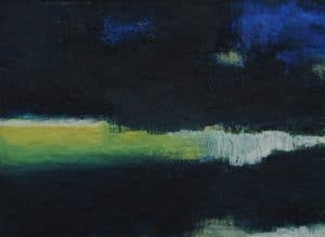 abstrakte Malerei, Oberflächen, starke Farben