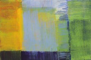 abstrakte Malerei kaufen: Landschaft, Nordsee