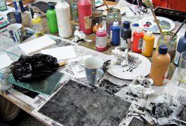Malkurse für Anfänger und Fortgeschrittene bei Künstlerin Kühn